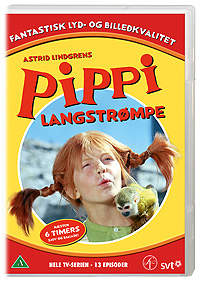 Pippi Langstrømpe TV Serie Vol 1-6