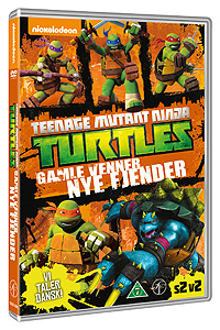 Teenage Mutant Ninja Turtles - Gamle venner nye fjender