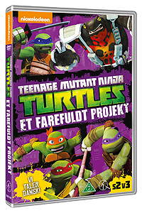Teenage Mutant Ninja Turtles - Et farefuldt Projekt